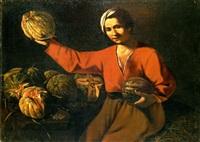 venditore di meloni by pietro paolini