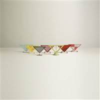 napkin holders, collection of seven (set of 7) by marianne brandt