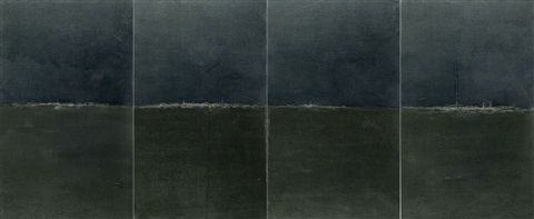 landscape no. 1 (in 4 parts) by qiu anxiong