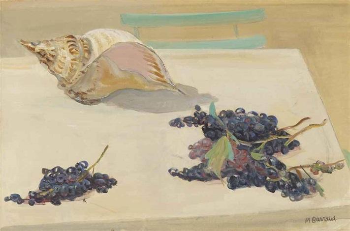 coquilles et raisins by maurice barraud