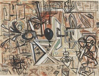 beat abstraction by george condo