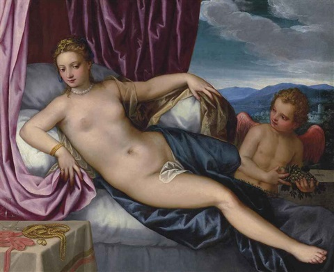 venus and cupid by hans rottenhammer the elder