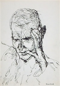 portrait albert wigand (from sketchbk) by ernst hassebrauk