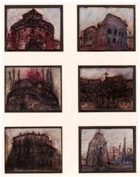 römische monumente (6 works) by ernst len