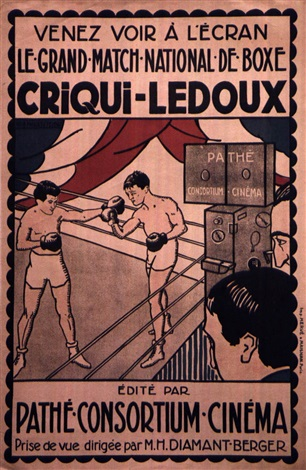 criqui ledoux by posters sports boxing