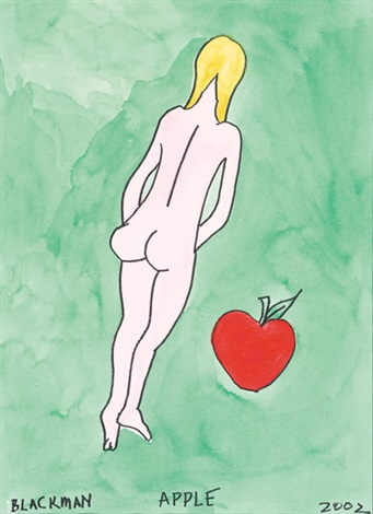 apple by charles blackman