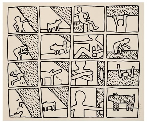 the blueprint drawings 11 by keith haring