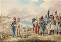 the imperial french cavalry by t. paul (paul johann georg) fischer