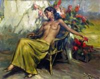 la belle espagnole endormie by richard durando-togo