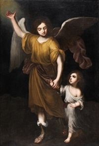 ángel de la guarda by josé gutiérrez de la vega