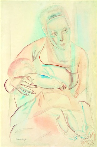 mother and baby by frances mary hodgkins