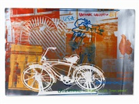 bicycle by robert rauschenberg