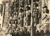 voussures du portail du jugement dernier by charles nègre