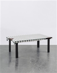 untitled (table) by urs fischer