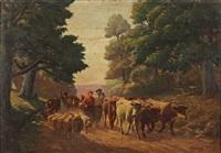 le retour du troupeau by jean baptiste cazaux