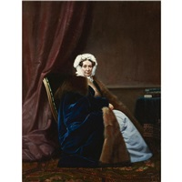portrait of anna von platen by gerasim ignatevich kadunov