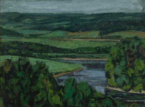 rivière du nord by jacques godefroy de tonnancour