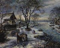 l'hiver russe by marina melnikova