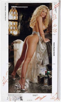brande roderick, april playmate of the month by stephen wayda