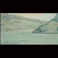 lake lugano by clara d. davidson