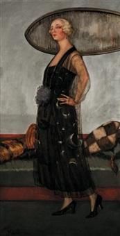 portrait de madame pratt by henri visconte