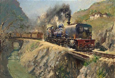 freight from port shepstone memories of the narrow gauge natal south africa by terence cuneo