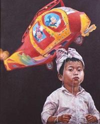 terbang bersama micky mouse by irwan widjayanto