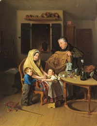 familie in not by heinrich august mansfeld