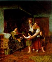 blumen für die großmutter by ludwig obersteiner