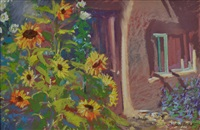sunflowers by reita newkirk