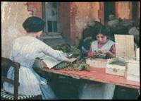 france : femmes triant du raisin by jules gervais courtellement