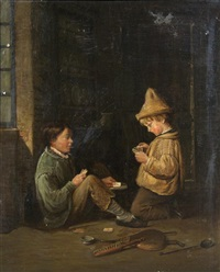 the card players by edouard frere