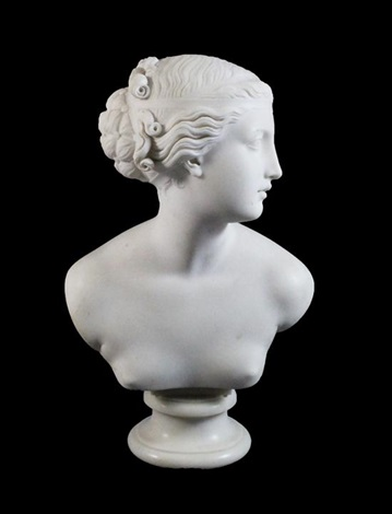 bust of a nymph by john gibson