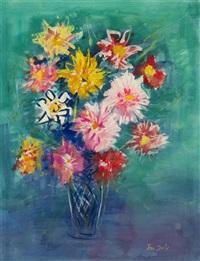 fleurs by jean dufy