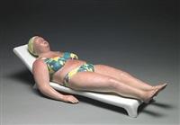 sunbather (study) by duane hanson