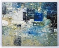 composición de un paisaje azul iii by miguel angel alamilla