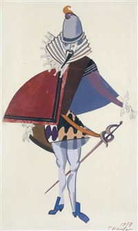 stage costume by tadeusz kantor