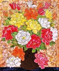 flowers by wu hao