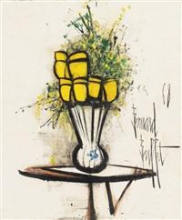 vase de fleurs by bernard buffet