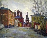 krutitsky yards, moscow by piotr evgeni fedorovich groshev