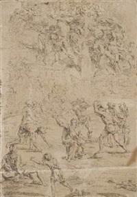 le martyr de saint etienne by raymond de lafage
