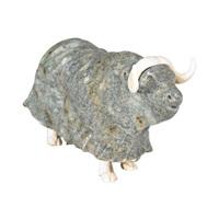 musk ox by manasie akpaliapik