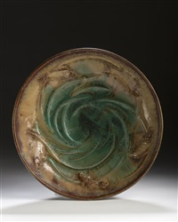 fish bowl by fulper pottery