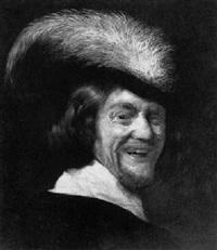 a laughing bravo by gysbert (gerard) van der kuil