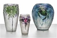 crabes et algues vase by gabriel argy-rousseau