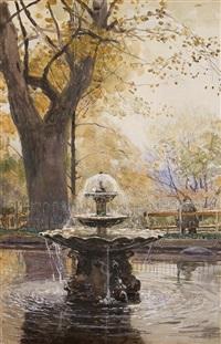 fontaine im park by hans herrmann