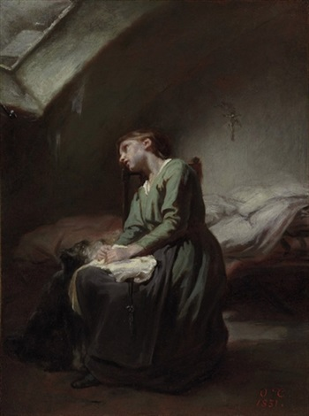 the abandoned girl by nicolas françois octave tassaert