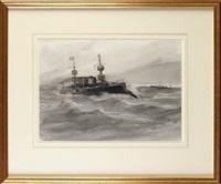 a world war i french cruiser by joseph richard bagshaw
