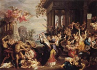 the massacre of the innocents by guillaume forchondt the elder