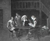 mosqueteros jugando by vicente campesino y mingo